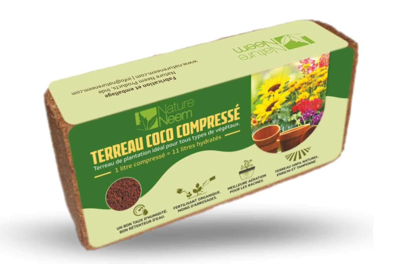 Coco Brick by Nature Neem