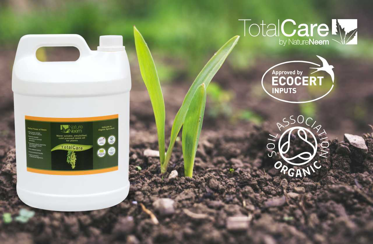 TotalCare : Neem oil as an insect growth regulator