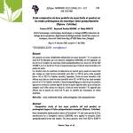 Etude de l'huile de neem sur les moustiques