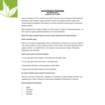 List of organic pesticides